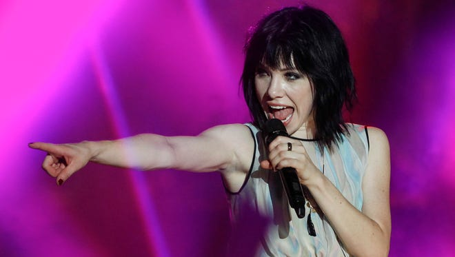 Carly Rae Jepsen performs at the MTV World Stage Live in Malaysia on Sept. 12.