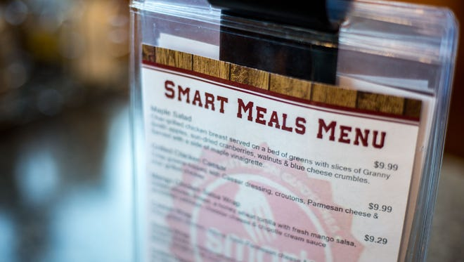 Nutz Deep II in Marshfield joins the Smart Meal program, along with other restaurants in Wood County to promote healthy living within the Marshfield community.