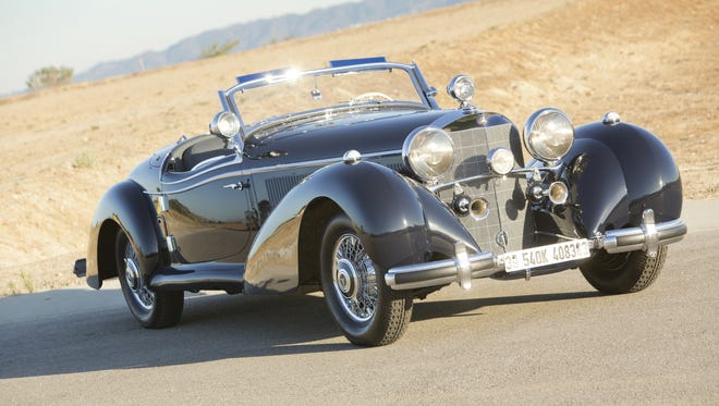 RM Sotheby's collector-car auction at the Arizona Biltmore Resort in Phoenix boasts a 1939 Mercedes-Benz 540 K Special Roadster with an estimated value between $7.4 million and $8.4 million.