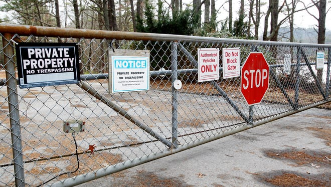 While the nearly 500-acre inholding is now part of public lands, it is still off limits to the public, Guidry said, and it will be for years until environmental remediation and and recreational planning is completed at the former industrial site.