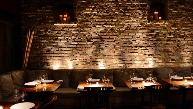 Inside the Paramus restaurant Chakra.