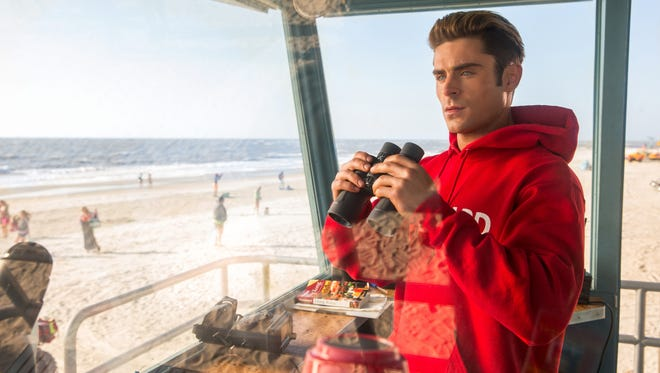 Matt Brody (Zac Efron) is the newest recruit to a crimefighting lifeguard crew in 'Baywatch.'