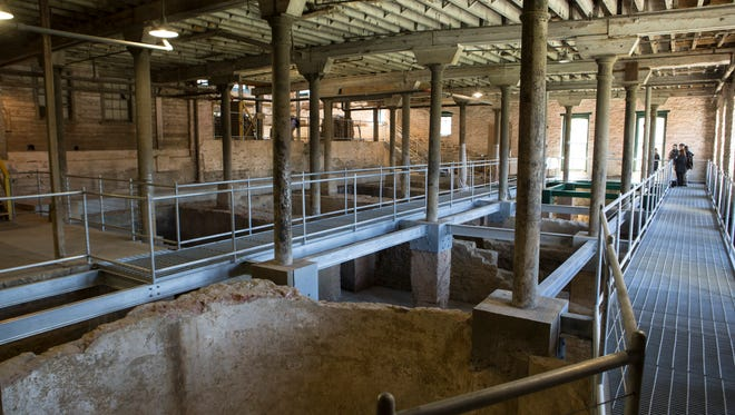 In spring 2016, contractors discovered remnants of the original O.F.C. Distillery at Buffalo Trace.