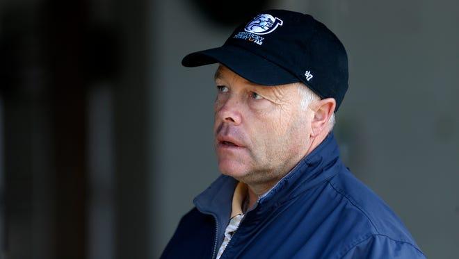 Ian Wilkes, trainer of Kentucky Derby entry, McCraken. April 27, 2017.
