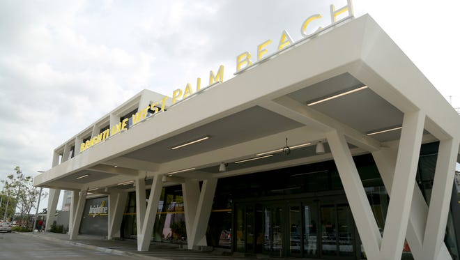 Brightline debuted its West Palm Beach station in May.