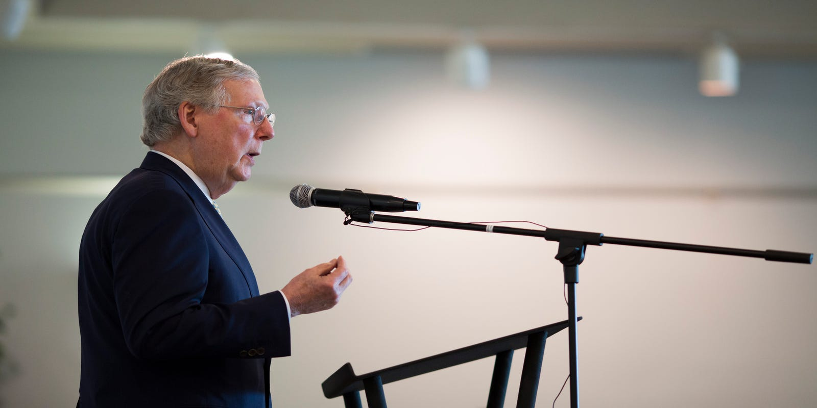 Mitch McConnell: We paid for 'sin of slavery' by electing Obama