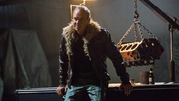 The Vulture (Michael Keaton) has reason to give his
