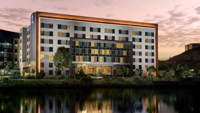 The AC Hotel San Francisco Airport / Oyster Point Waterfront is located 10 miles south of downtown San Francisco and 10 minutes from San Francisco International Airport.