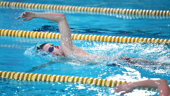 Roberson senior and swimmer Reid Arwood is currently