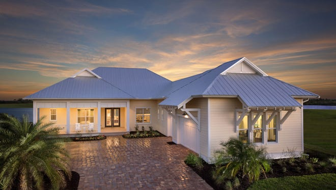 The Destin model home built by Stock Classic Homes is open in Lake Timber at Babcock Ranch.
