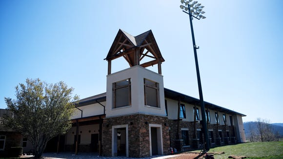 Christ School's new $6 million indoor athletic complex
