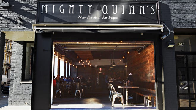 Mighty Quinn's Barbecue has dedicated space to handle its growing number of delivery orders as demand for such service accelerates nationwide.