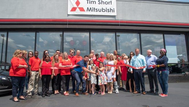 Tim Short Mitsubishi held its grand opening celebration Friday.