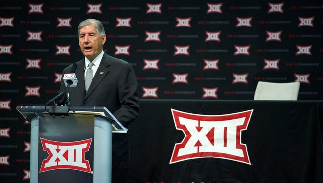Big 12 commissioner Bob Bowlsby.