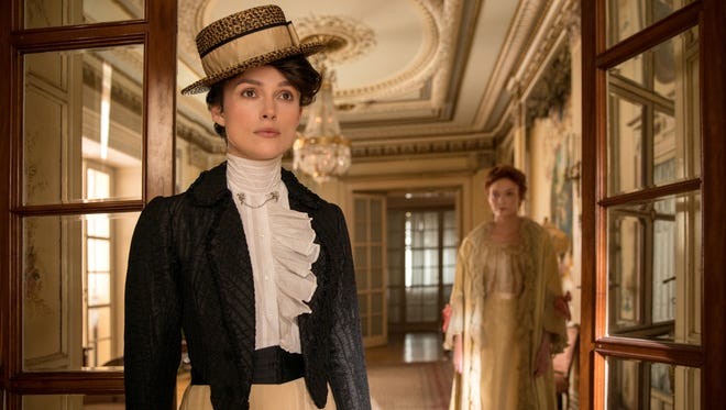 "Keira Knightley stars as Sidonie-Gabrielle Colette, a real-life French author who fought for creative ownership and sexual expression, in the drama ""Colette"" (Sept. 21)."