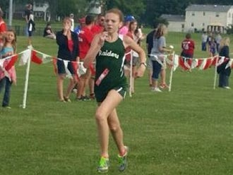 South Ripley cross country runner Megan Cole