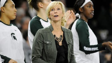 Injury-depleted MSU women face surging Michigan