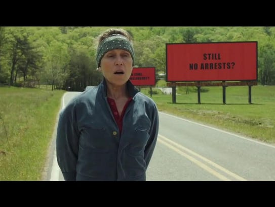 """Three Billboards Outside Ebbing, Missouri"""