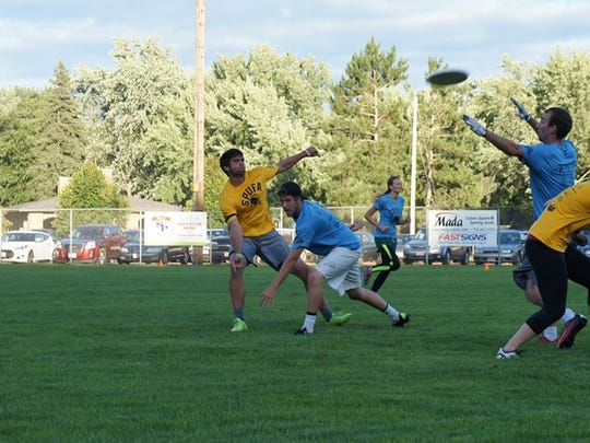 The Stevens Point Ultimate Frisbee Association will