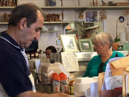 The Middle Eastern Bakery and Deli saw a boom in business Monday, after news of their damaged windows spread on social media.