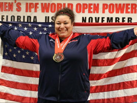 Battle Creek native Bonica Lough is an 11-time national champion in powerlifting.