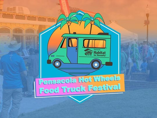 The 2018 Pensacola Hot Wheels Food Truck Festival includes lives music, a tasting competition and 23 participating food trucks.