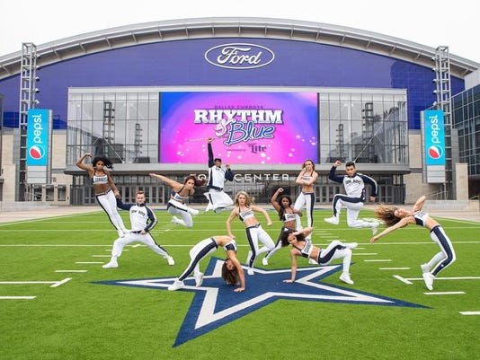 Dallas Cowboys Rhythm & Blue Dance team