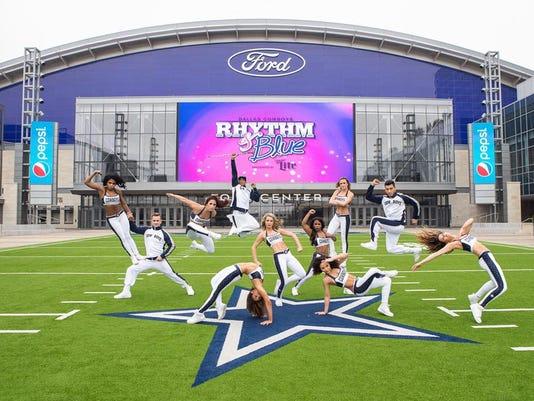 Dallas Cowboys Rhythm & Blue Dance team