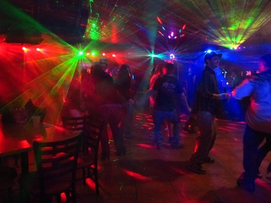 Revelers party in Mesquite during a past New Year's Eve celebration