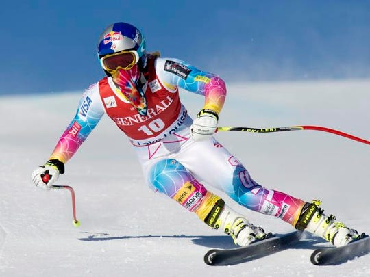 Lindsey Vonn retired in February after the world championships in Are, Sweden.