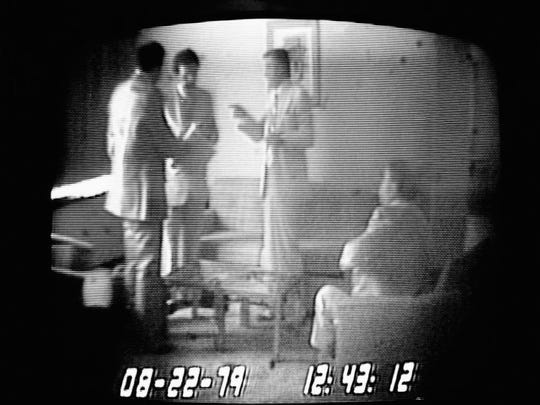 In this Oct. 15, 1980 photo made from video, undercover
