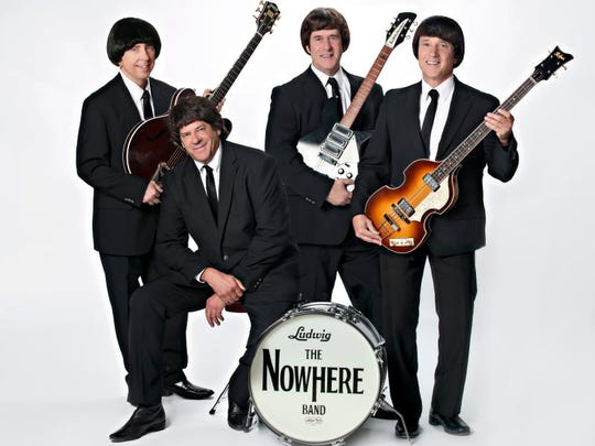 The members of The Nowhere Band are (left to right) Donavon Christenson, Dave Radford, Chuck Noonan and Steve Lavalley. Not pictured is keyboardist Karkey Karkalits.