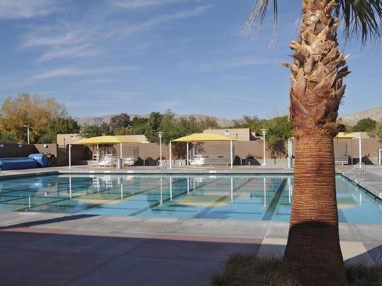 The John H. Furbee Aquatics Center in Desert Hot Springs, January 8, 2013.  Jay Calderon/The Desert Sun
