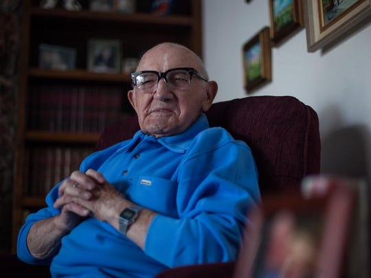 WWII veteran Gus Penzari saw extensive combat in the European Theater, including the Battle of the Bulge.