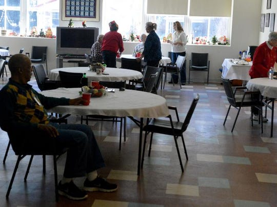 File photo of the Staunton Senior Center on Wednesday, Dec. 25, 2013.