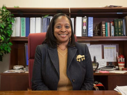 Executive Director of the Tallahassee Housing Authority Brenda Williams poses in her office in Tallahassee, Fla on Tuesday, January 7, 2013.