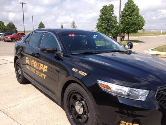 A Cascade County Sheriff's Office patrol car. Former captain Raymond Hitchcock was charged with misdemeanor theft Thursday.