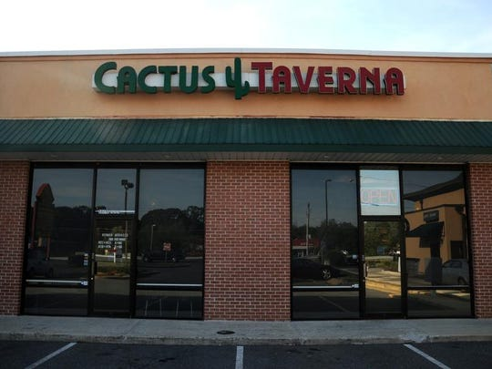 Cactus Taverna is located on Route 13 North in Salisbury.