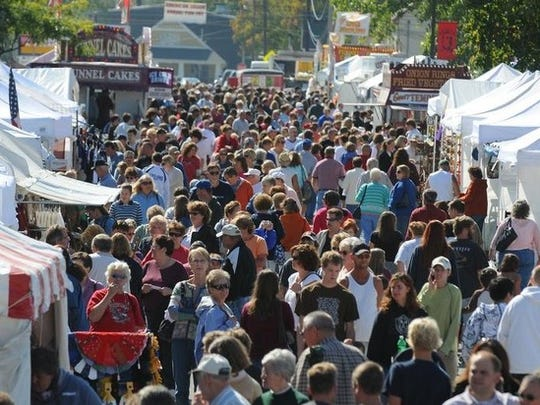 The Riley Festival remains one of Indiana's largest arts-and-crafts festivals, attracting 50,000 to 75,000 over four days and about 500 vendors.