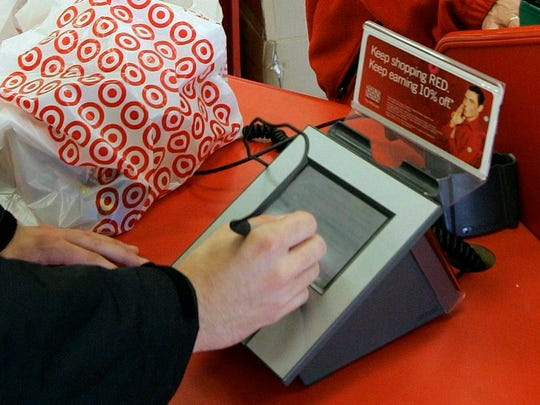 At least some Cincinnati-area Target stores are dealing with register problems Saturday.