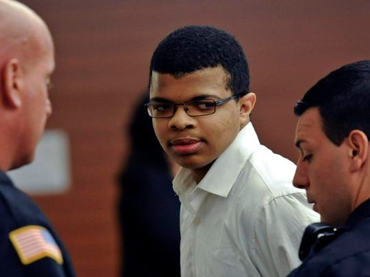 Justin Robinson leaves the courtroom after his sentencing.  Associated Press Though Justin Robinson, 16, took sole responsibility for killing Autumn Pasquale, charges against his brother have not yet been dropped. The boysâ?? mother alerted police after a seeing a Facebook post after the slaying. Associated Press file Justin Robinson leaves the courtroom Thursday after his sentencing in the death of a 12-year-old girl. Associated Press Justin Robinson, who pleaded guilty last month to aggravated manslaughter in the death of Autumn Pasquale, leaves the courtroom after his sentencing on Thursday, Sept. 12, 2013, in Gloucester County, N.J. Robinson was sentenced Thursday to 17 years in state prison for fatally strangling a 12-year-old girl whom he had lured to his home with an offer to trade bicycle parts. (AP Photo/The Philadelphia Inquirer, Ron Tarver, Pool)