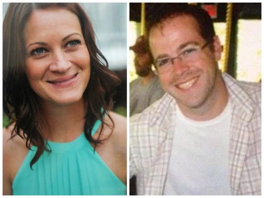 Lindsey Stewart and Mark Lennon, killed in the July 26, 2013, boat crash into a construction barge on the Hudson River near the Tappan Zee Bridge. Stewart was a bride-to-be and Lennon her fiance's best man.