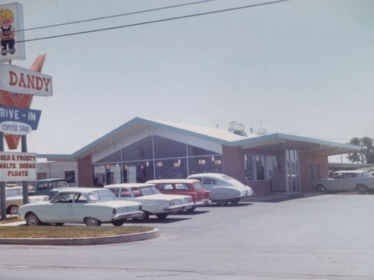 Jim Dandy Family Restaurant at 2301 Conner St., Noblesville, opened as Jim Dandy Drive-In April 23, 1964. Curb service opened first, then the dining room opened a few days later.