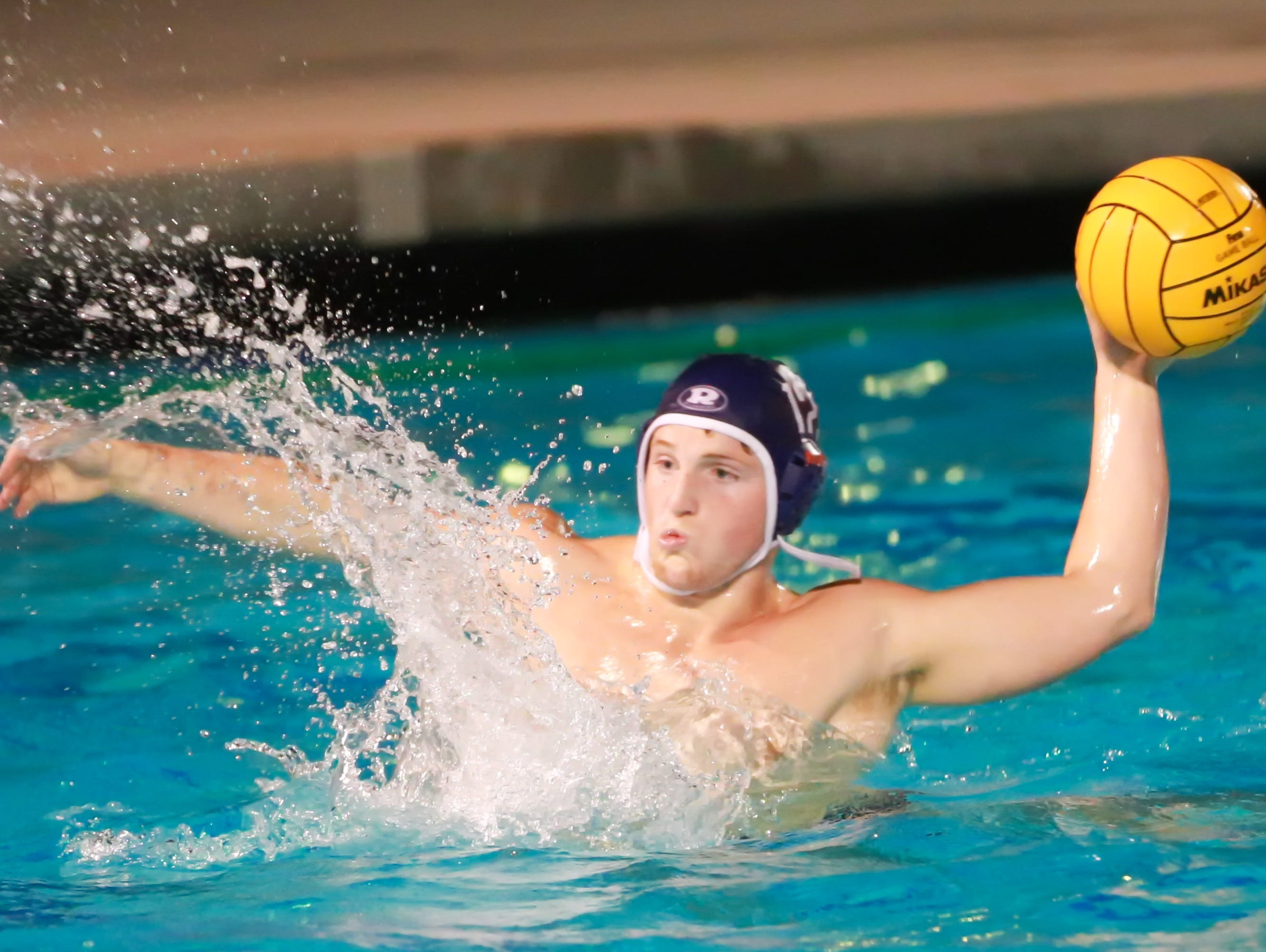 Redwood's Matt Bravante is the 2014 Times-Delta/Advance-Register All-Tulare County high school boys water polo player of the year.