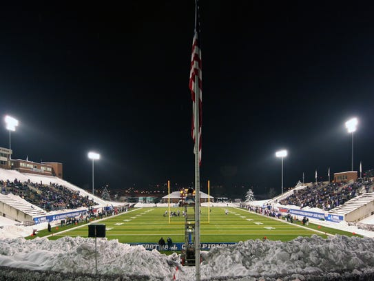 Salem Football Stadium was the host of the 2009 Stagg