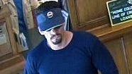 The suspect in Friday's bank robbery in South Lake Tahoe.