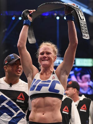 Holly Holm became one of the most recognizable fighters in the UFC after defeating Ronda Rousey.
