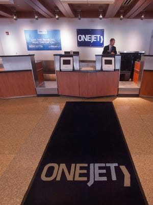 OneJet made its debut in Louisville in 2016 with a seven-passenger plane arriving at the Louisville airport from Pittsburgh.