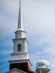 First Baptist Church in Camden, Ala. on Wednesday April