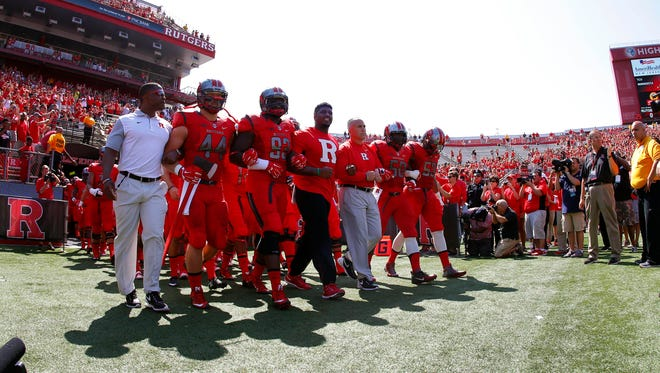 After one of the worst offseasons in memory when it comes to issues outside the field of play, Rutgers stands as the symbol for what can go wrong in a college football program when inept people are in charge.  The Scarlet Knights did open with a win Saturday.